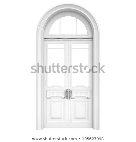 古い · スタイル · フロントドア · 木製 · 家 · 木材 - ストックフォト © tuulijumala