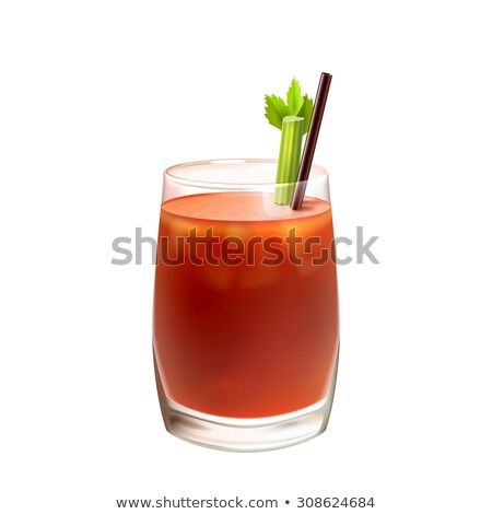 Bloody Mary Coctail with celery Stock photo © njnightsky