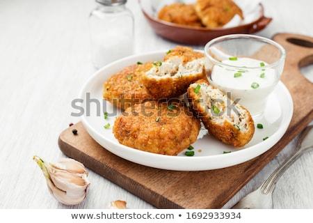 fried patties stock photo © digifoodstock