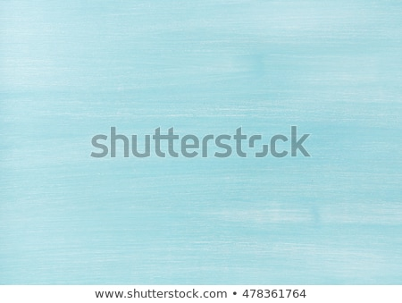 sky blue painted wooden plank surface Stock photo © meinzahn