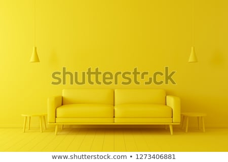 yellow interior copy space Stock photo © arquiplay77