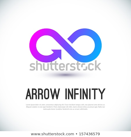 rainbow symbol of infinity Stock photo © blackmoon979
