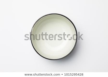 deep white dish Stock photo © Digifoodstock