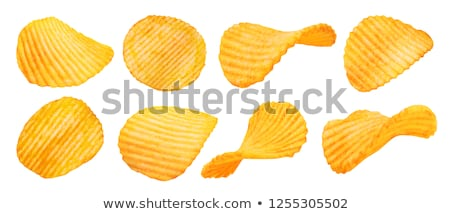 Salted potato chips Stock photo © Digifoodstock