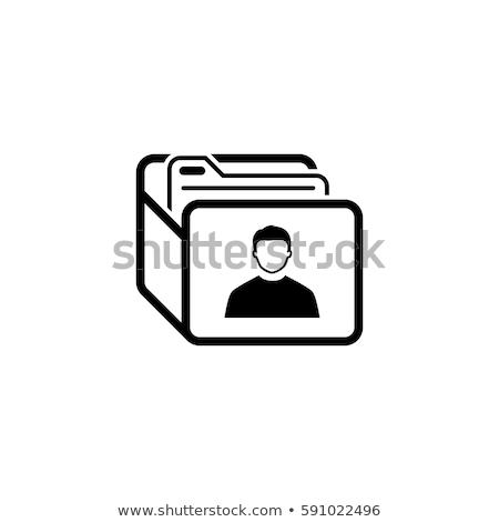Customer Base Icon. Business Concept. Flat Design. Stock photo © WaD