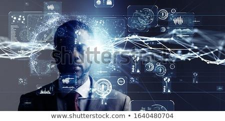 Reizen mystiek voorwaarde magie ziel Stockfoto © psychoshadow