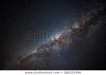 Milky way galaxy in clear starry night sky Stock photo © Juhku