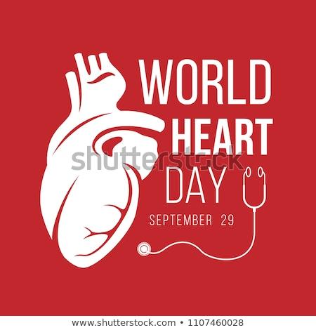 29 september  World Heart Day Stock photo © Olena