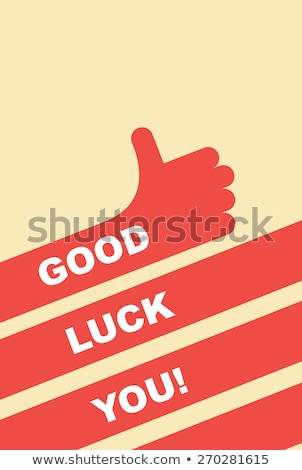 Icon of good luck Stock photo © Olena