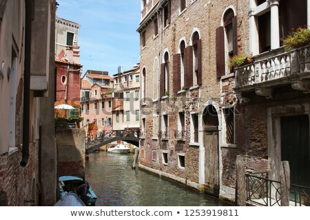Grand Canal in Venice, Italy. Exquisite buildings along Canals. Stock photo © Virgin