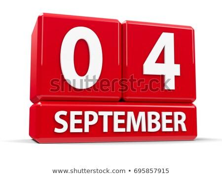 dzień · Kanada · godło · kalendarza · przycisk - zdjęcia stock © oakozhan