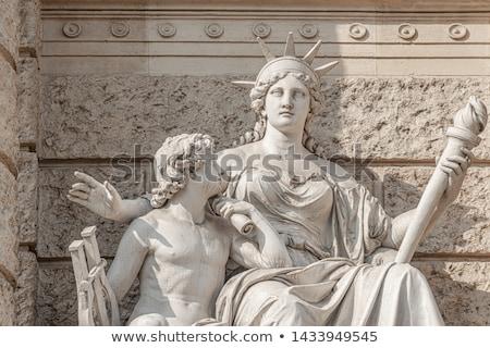 подробность статуя Вена путешествия архитектура история Сток-фото © IS2