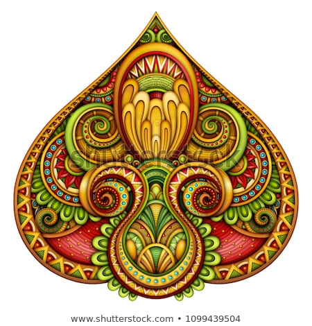 Colored Decorative Pike, Abstract Design Element Stock photo © lissantee
