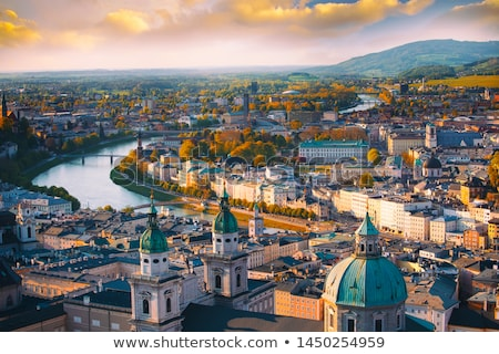 Vienne Autriche image église crépuscule bleu Photo stock © rudi1976