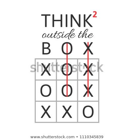 rozwiązanie · kostki · streszczenie · minimalistyczne · transformator · puszka - zdjęcia stock © kyryloff