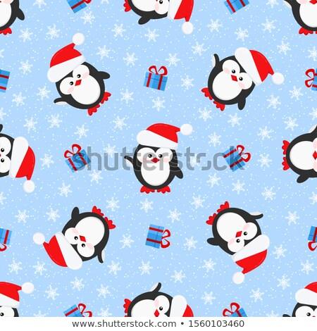 Hat · Рождества · Cap · бесконечный - Сток-фото © smeagorl