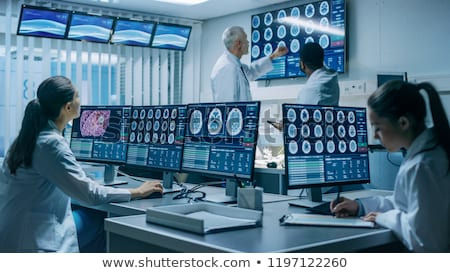 digital neurology stock photo © lightsource