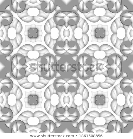 monochrome beautiful decorative ornate mandala stock photo © lissantee