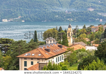 Church of San Giorgio in Laglio on Lake Como in Italy Stock photo © boggy