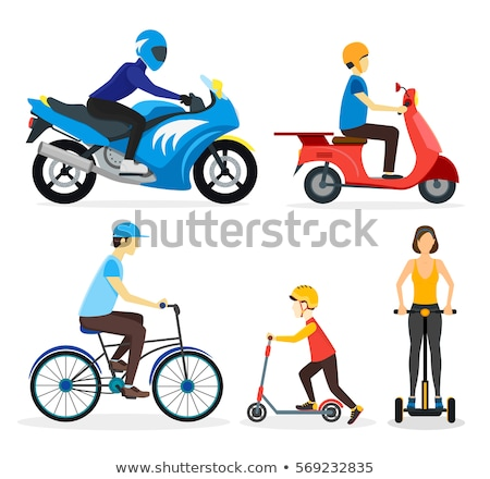 Personal Transporter Icon Sign Vector Stock photo © robuart