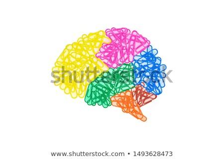 創造的思考 シンボル マネージャ 小さな 新しい ストックフォト © ra2studio