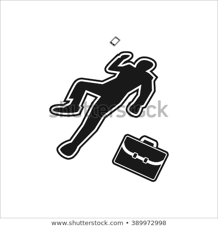 Crime scene icon Stock photo © angelp