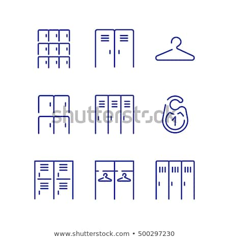 Locker room icon Stock photo © angelp