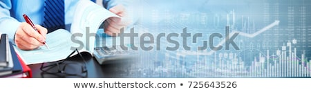 Prognose banners vector weer hemel voorjaar Stockfoto © Darkves
