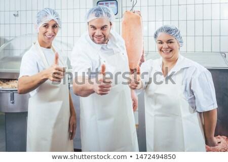 команда бизнеса женщину человека Сток-фото © Kzenon