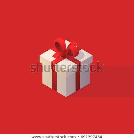 Gift Box Isometric Object Stock photo © Anna_leni