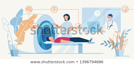 CT Computed Tomography Scanning Clinic Website Stock photo © robuart