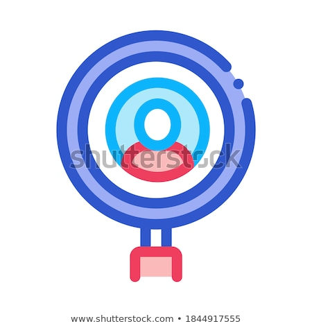 Inspection of Voter Icon Vector Outline Illustration Stock photo © pikepicture