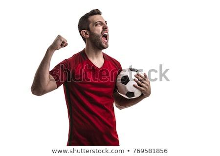 Futebol fãs papel mundo esportes equipe Foto stock © photography33