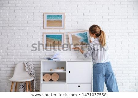 Woman decorator Stock photo © photography33