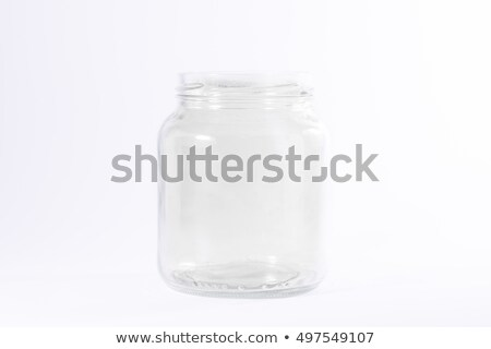 open small glass with screwtop Stock photo © prill