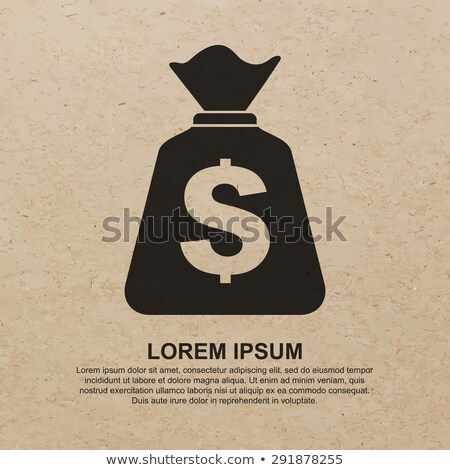 recycling brown paper bag icon   earnings stock photo © experimental