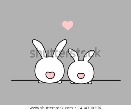 Valentine's bunny Stock photo © UrchenkoJulia