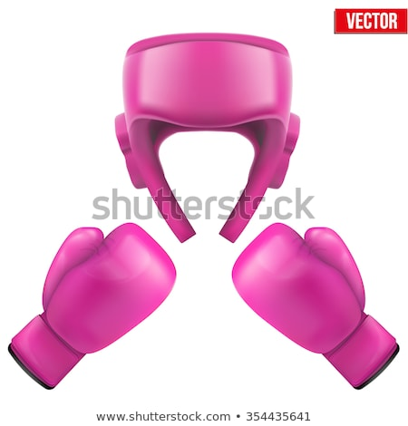 kadın · boks · dişli · yoğun · kadın · yüz - stok fotoğraf © tobkatrina