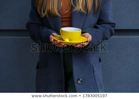 roken · hot · jonge · vrouw · jonge · mooie · vrouw - stockfoto © carlodapino