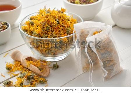 Herbal marigold tea Stock photo © simply