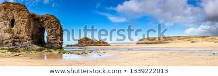 Spiaggia panorama cornwall Inghilterra Ocean blu Foto d'archivio © latent