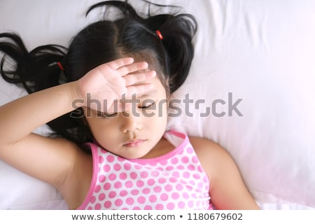 Child with pain in the forehead Stock photo © photography33
