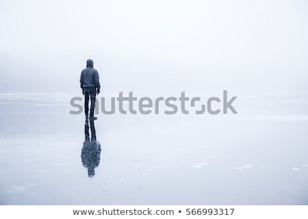 Boy Walking at the River Stock photo © 2tun