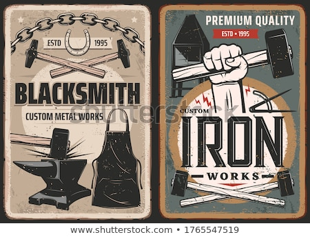 Blacksmith Anvil Stock photo © AlphaBaby