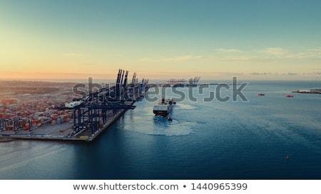 два суда порта Motor яхта порт Сток-фото © natalinka