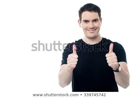 iyi · görünümlü · akıllı · adam · genç - stok fotoğraf © stockyimages