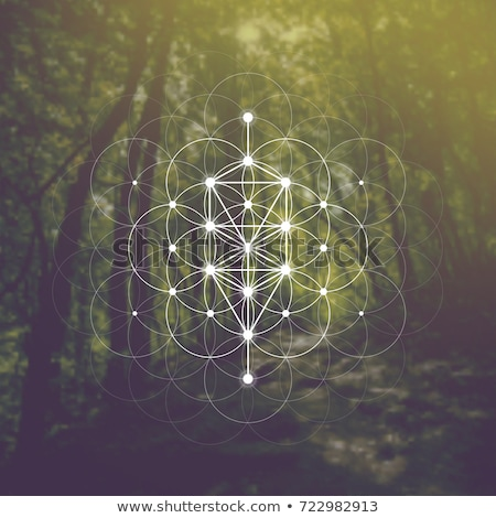 Stock photo: Numerology (the ancient science).