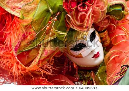 A joker at the Venice Carnival Stock photo © raphotos
