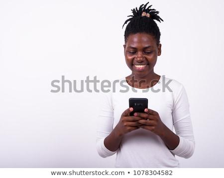 młodych · dziewczyna · uśmiechnięty · portret · piękna · szczęśliwy - zdjęcia stock © witthaya