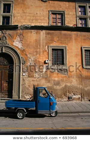 Italian tricycle Stock photo © deyangeorgiev